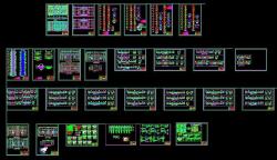 فایل اتوکد درس طراحی فنی رشته معماری با جزئیات کامل